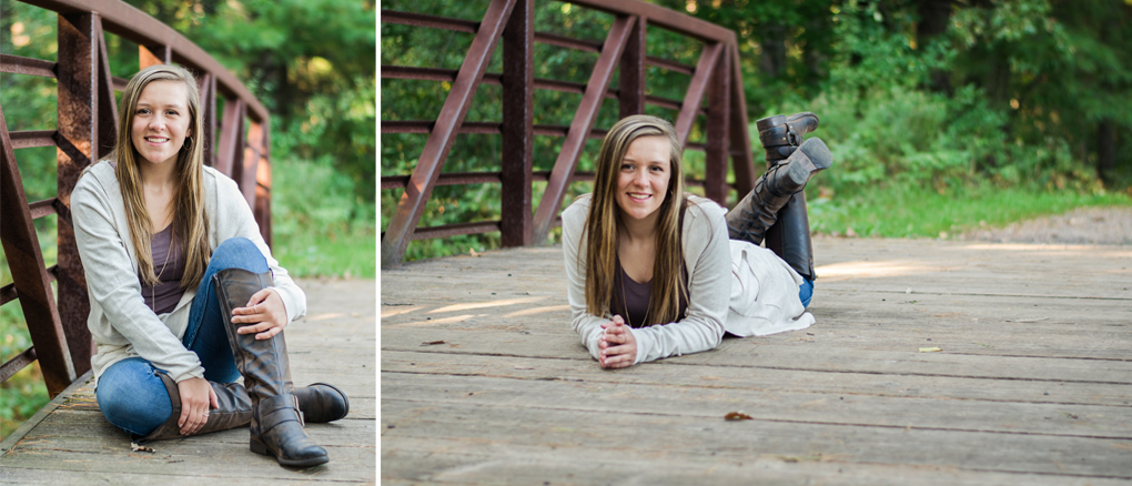 Senior session at South Wood County Park