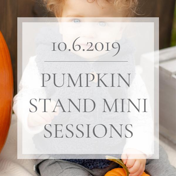 Pumpkin Stand Mini Sessions