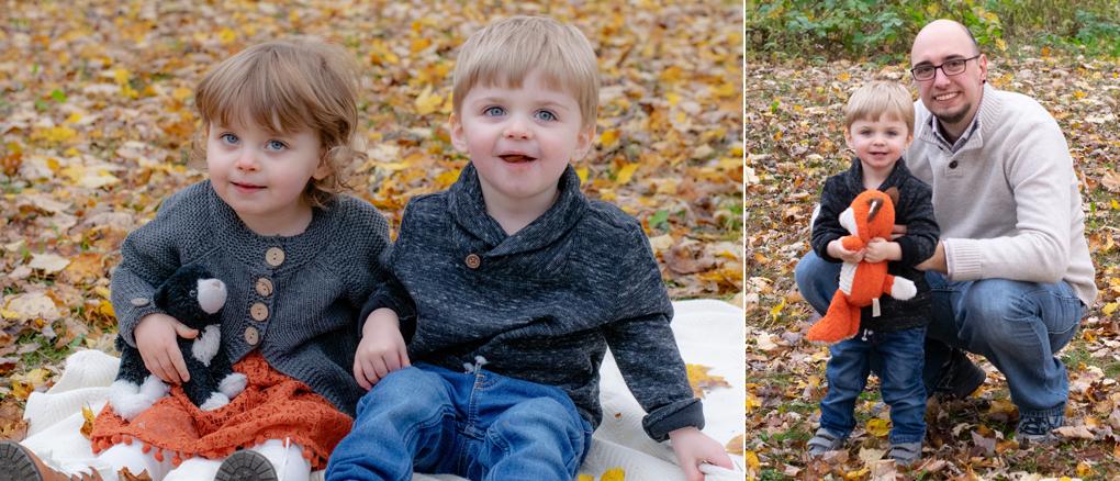 Pavloski Family Fall Foliage Mini Session